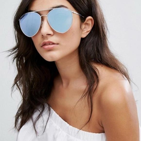 c41c906156 Quay Australia Indio Oversized Aviator Sunglasses.  M 5b2513a51b3294b4954255b5